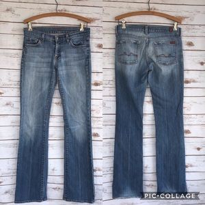 7 For All Mankind | Long Bootcut Jeans 28